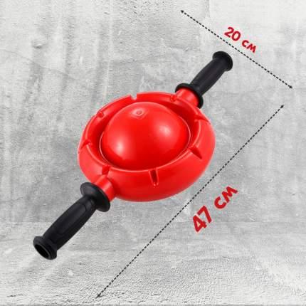 Ролик для пресса, угол скольжения 360 градусов, красный, 47х20 см, Atlanterra AT-PRES-02
