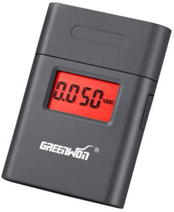Алкотестер портативный Greenwon AT-838 (шаг 1 промилле) (Серый)