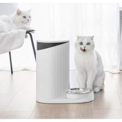 Автокормушка для кошек и собак Xiaomi Furrytail Pet Smart Feeder White, 4 л