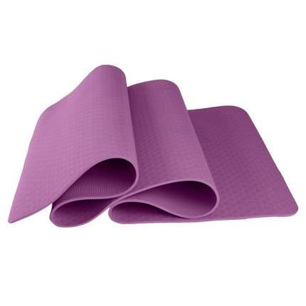 Коврик для йоги и фитнеса, толщина 0,6 см, фиолетовый, 183х61х0,6 см, Atlanterra AT-YM-09