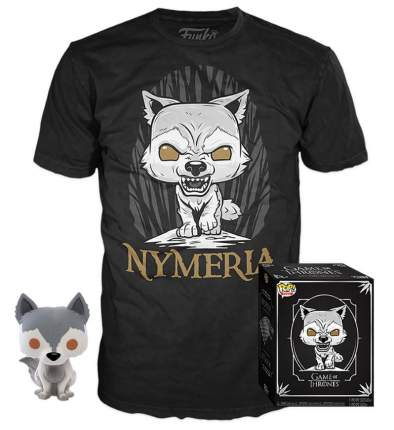Набор Funko Game of Thrones - POP! Tees - Nymeria (фигурка / футболка) (размер M)