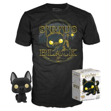 Набор Funko Harry Potter - POP! Tees - Sirus Black (фигурка/ футболка) (размер XL)