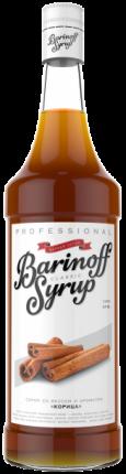 Сироп !Barinoff Корица 1л (для кофе, коктейлей и выпечки)