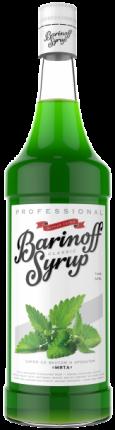 Сироп !Barinoff Мята 1л (для кофе, коктейлей и выпечки)