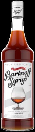 Сироп !Barinoff Амаретто 1л (для кофе, коктейлей и выпечки)