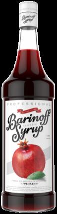 Сироп !Barinoff Гренадин 1л (для кофе, коктейлей и выпечки)