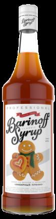 Сироп !Barinoff Имбирный пряник 1л (для кофе, коктейлей и выпечки)