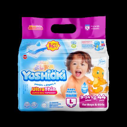 Трусики-подгузники Yoshioki Ultra-Thin L (9-14 кг), 44 шт.
