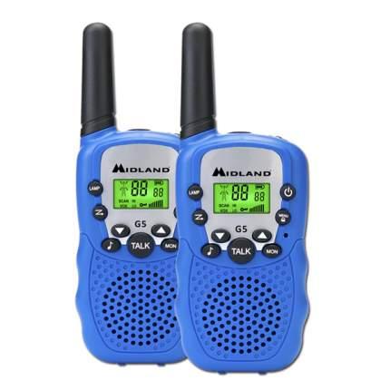 Портативная радиостанция Midland G5 Blue