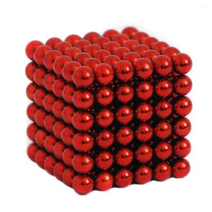 Куб из магнитных шариков Красный, 5 мм 216 элементов