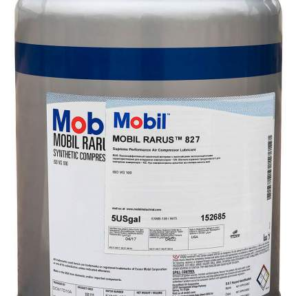 Масло компрессорное Mobil Rarus 827 18,9 л 152835