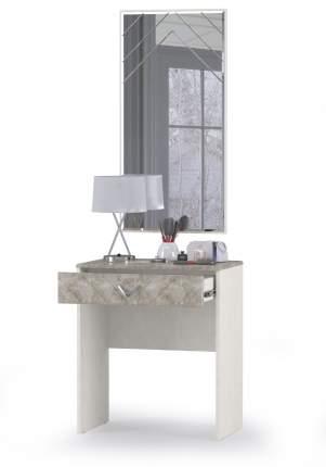 Стол туалетный Mobi Амели 12.48+З шёлковый камень/бетон чикаго беж, 65х41х185 см.