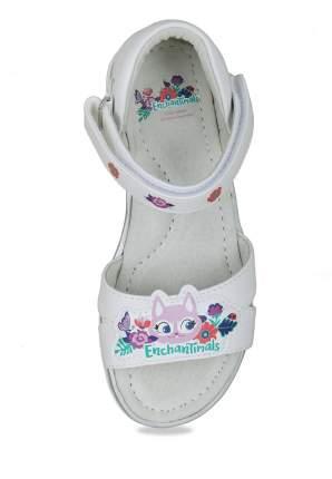 Сандалии для девочек Enchantimals, цв. белый, р-р 26