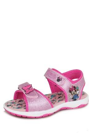 Сандалии детские Minnie Mouse, цв. розовый р.26