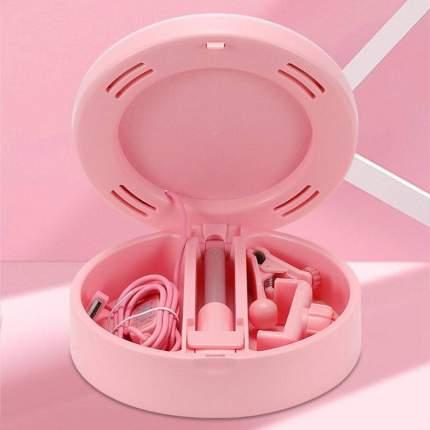 Кольцевая лампа зеркало Mai Appearance G3 для фото- и видеосъемки Pink