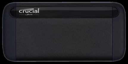 """Внешний диск SSD Crucial USB Type-C 1000Gb CT1000X8SSD9 X8 2.5"""""""
