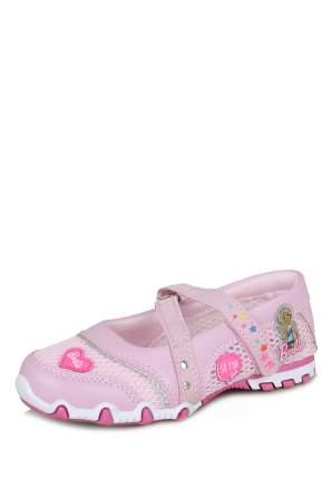 Туфли для девочек Barbie, цв. розовый, р-р 27