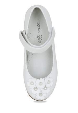 Туфли детские T.Taccardi, цв. белый р.30