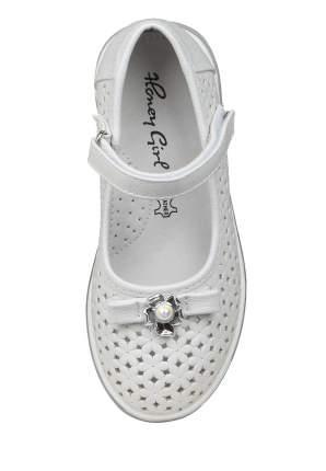 Туфли для девочек Honey Girl, цв. белый, р-р 26