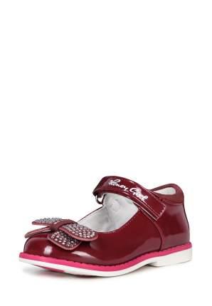 Туфли для девочек Honey Girl, цв. бордовый, р-р 24