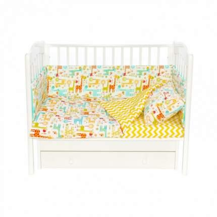 Комплект детского постельного белья Magic City Абстракция с жирафами