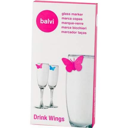 Маркеры для бокалов Balvi Drink Wings, 10шт,