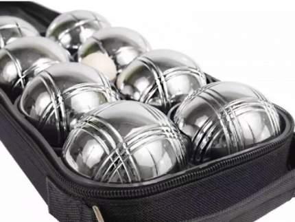 Большой игровой набор EcoBalance Петанк серебряный