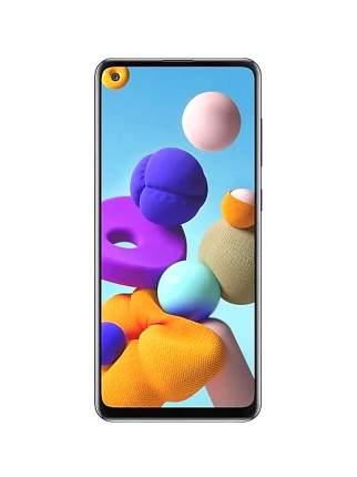 Защитное стекло Zibelino 3D для Samsung A21s черный