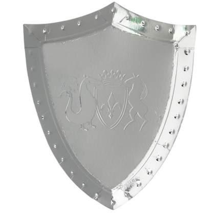 Тарелки Meri Meri щит, рыцари и дракон