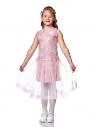 Платье нарядное Minavla Азалия пудра для девочки р.122