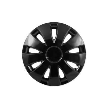 Колпаки R15 Jestic Аура черный 4 шт. VSK-01145805
