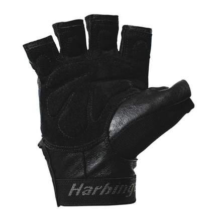 Перчатки для фитнеса Harbinger Training Grip®, black/blue, 9/L/XL