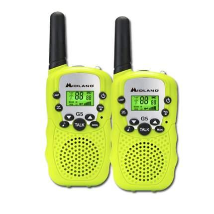Портативная радиостанция Midland G5 Yello комплект из 2-шт.