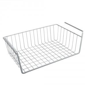 Полка подвесная для шкафа, хром, Homsu, 40 x 26 x 14 см/sl1230927