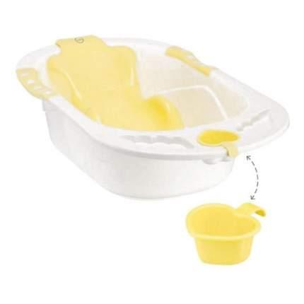 Ванна детская Bath Comfort yellow Happy Baby