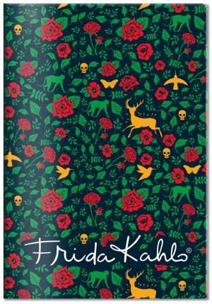 Обложка для паспорта Фрида Кало (Арте) зеленый