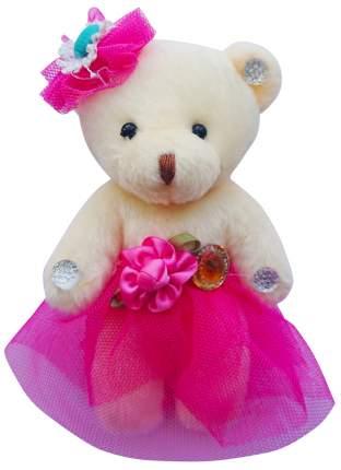 Набор мягких игрушек Color Kit Мишка в темно-розовом-сетка, 5 шт.