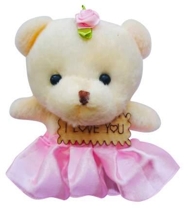 Набор мягких игрушек Color Kit Мишка в светло-розовом с табличкой, 5 шт.