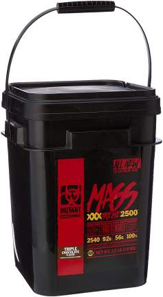 "Гейнер MUTANT Mass XXXtreme 2500 ""Тройной шоколад"" (10 кг)"