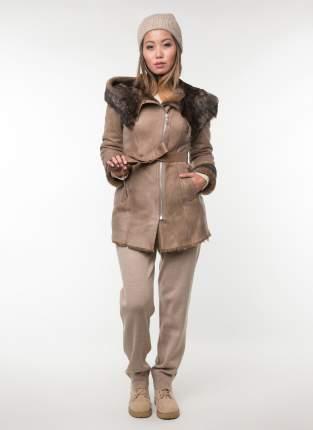 Дубленка женская Perre 30488 коричневая 48 RU