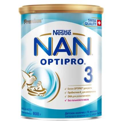 Молочная смесь NAN Optipro 3 от года 800 г