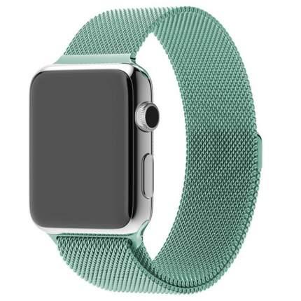 Ремешок Krutoff Milanese для Apple Watch 42/44mm (mint)