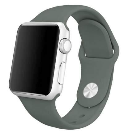 Ремешок Krutoff Silicone для Apple Watch 42/44mm (dark olive)