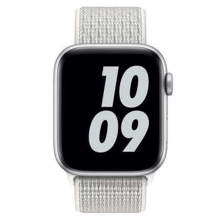 Ремешок Krutoff Nylon для Apple Watch 38/40mm (reflective white)