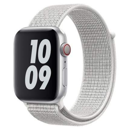 Ремешок Krutoff Nylon для Apple Watch 42/44mm (reflective white)