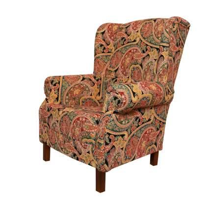Кресло La Neige GD-G6 Кресло большое дизайн Огурцы Пейсли Бута цвет Вавилон