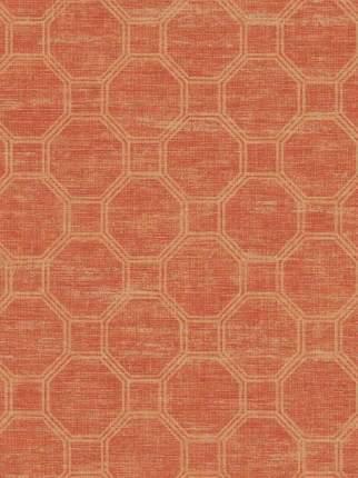 Дизайнерские обои Seabrook CONNOISSEUR, США, акрил/бумага, моющиеся, Красный, Геометрия