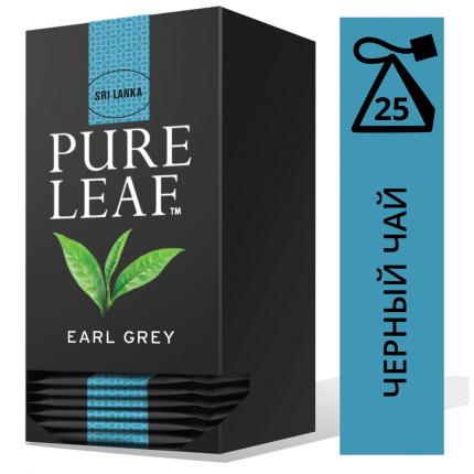 Чай черный Pure Leaf Earl Grey 25 пакетиков