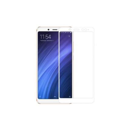 Защитное стекло Ёmart для Xiaomi Redmi Note 5/ Note 5 Pro (Белое)