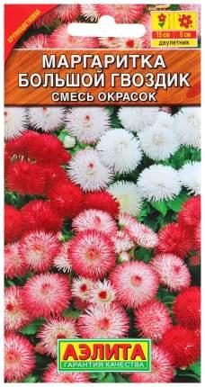 Семена цветов Аэлита Маргаритка махровая Большой гвоздик смесь двулетник